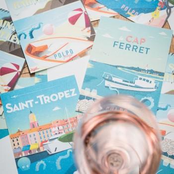 Cap Ferret, Saint-Barth ou Saint-Trop ? Faites votre choix chez Polpo