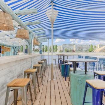 La brasserie Polpo et sa plage font leur grand retour cet été