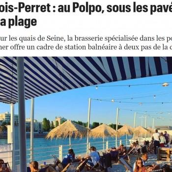 Levallois-Perret : au Polpo, sous les pavés de thon, la plage