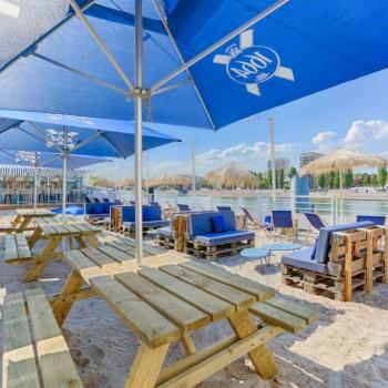 Polpo Plage : une terrasse éphémère les pieds dans le sable à Paris
